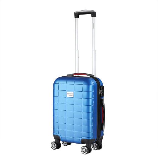 Koffer Hartschale Exopack Blau M aus ABS 40l 61x31x21cm