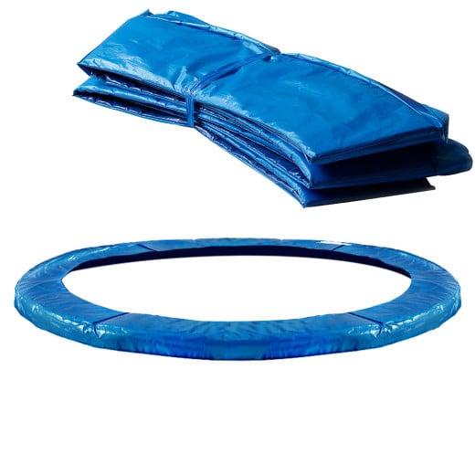 Federabdeckung Trampolin Blau Variation