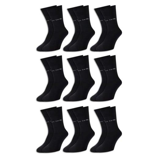 Pierre Cardin Socken 9er-Pack Schwarz Gr. 43-46