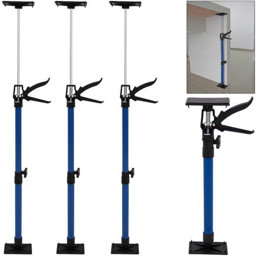 Stahl Türspanner/Zargenspanner 3er Set - 50-115cm max. 30kg