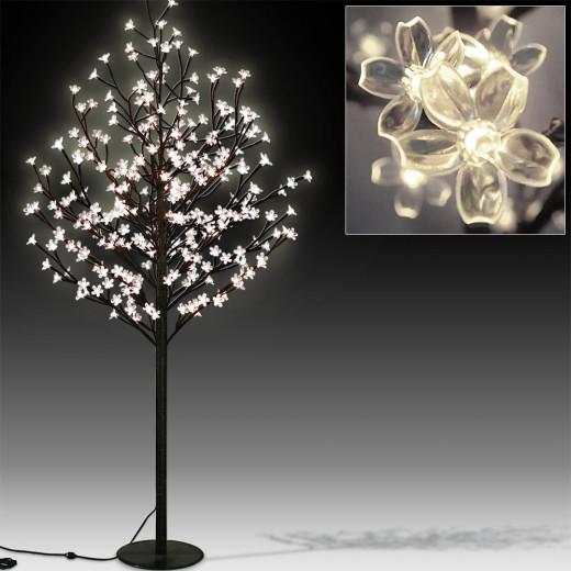 Kirschblütenbaum mit 220LEDs, 220cm Länge für In/Outdoor Betrieb
