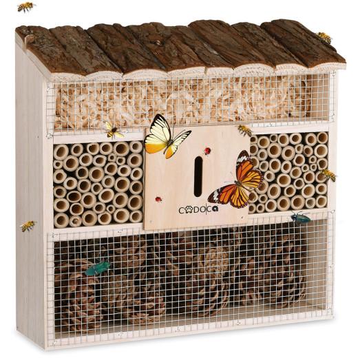 Insektenhotel Nistkasten 30,5x9,5x31cm