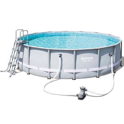 Bestway Frame Pool Power Steel™ Set Ø488cm