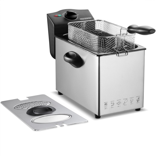 4 Liter elektrische Friteuse 2000 Watt