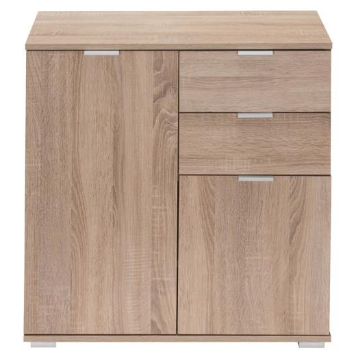 Sideboard »Alba« Eiche mit 2 Türen und Schubladen