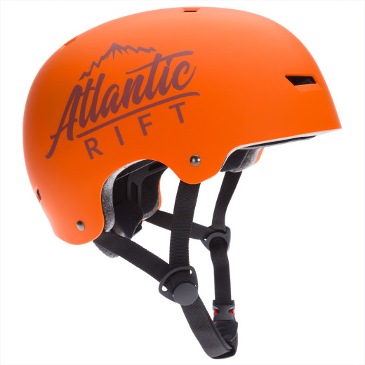 Atlantic Rift Kinder-/Skaterhelm Orange S verstellbar