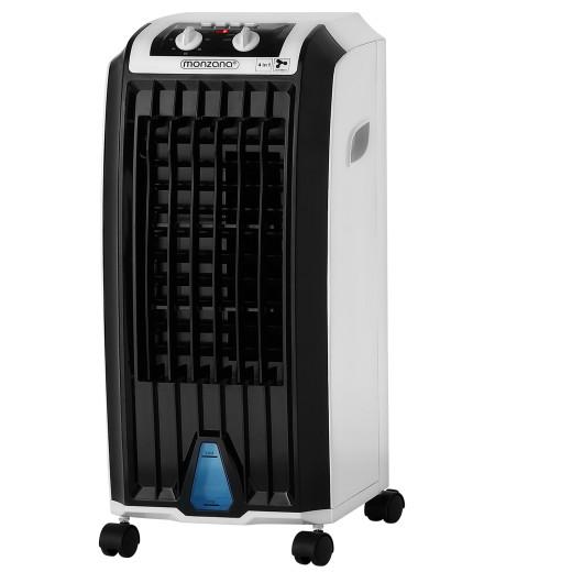Mobiles Klimagerät Weiß/Schwarz 5L