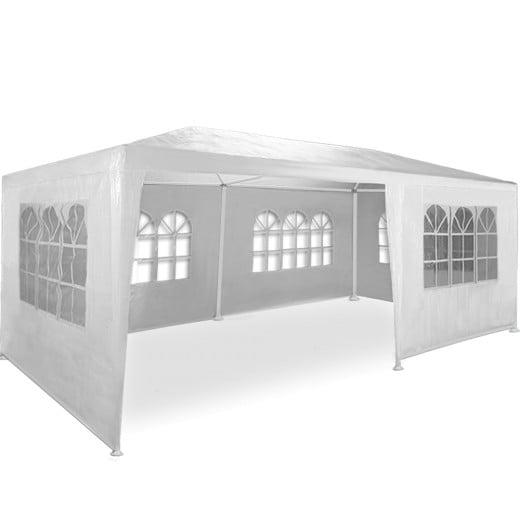 Festzelt Rimini Weiß 3x6m UV-Schutz 50+
