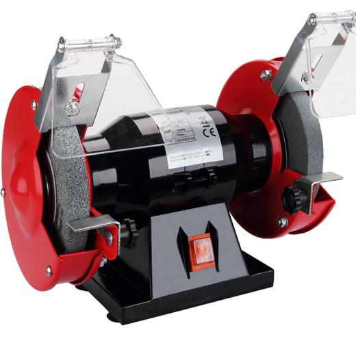 Doppelschleifer Schleifmaschine inkl. Schleifscheiben 250W