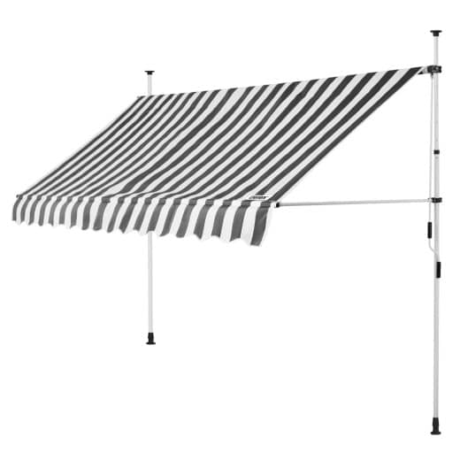 Clamp Awning White/Grey 11.5ft