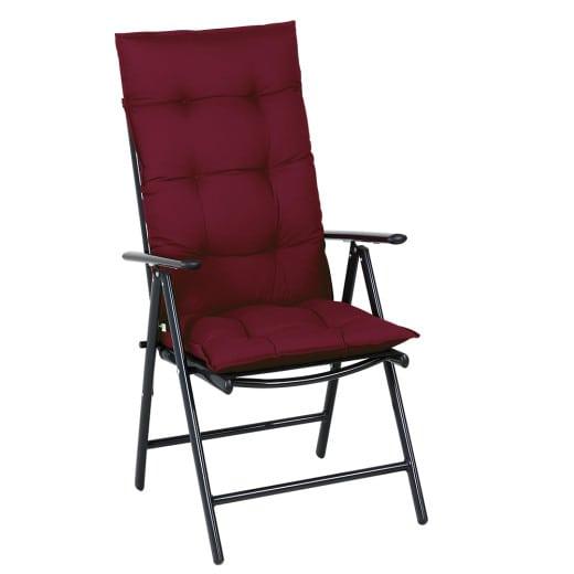 Sitzkissen 6er-Set Cozy Vanamo Rot 129x53x10cm