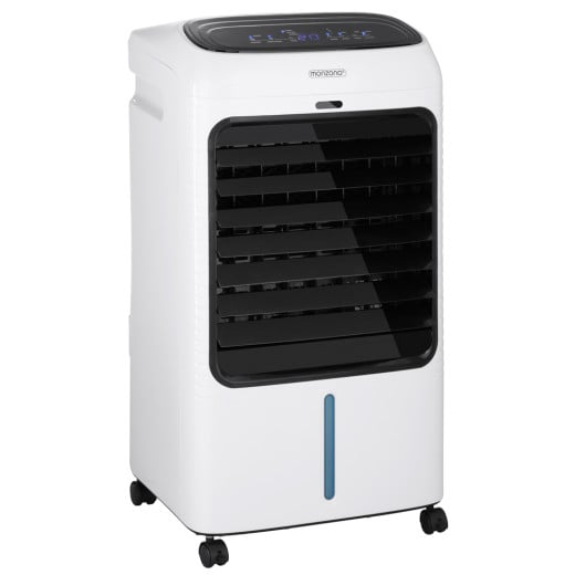 Klimagerät 4in1 XL mit Fernbedienung Timer 65W 10 Liter weiß