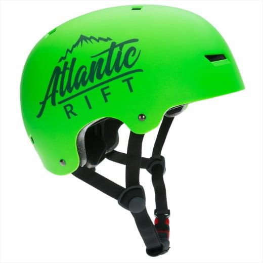 Atlantic Rift Kinder-/Skaterhelm Neongrün M verstellbar