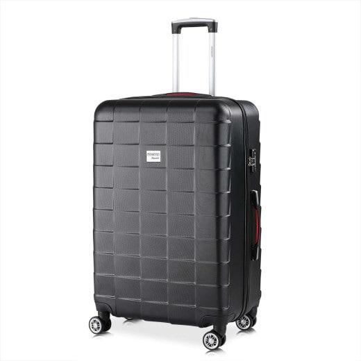 Koffer Hartschale Exopack Schwarz XL aus ABS 105l 75x47x30cm