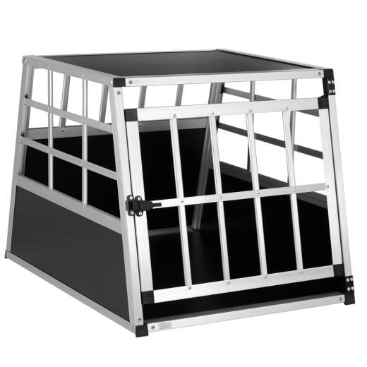 Hundetransportbox M 70x54x51cm Alu
