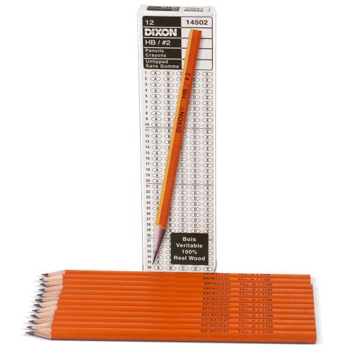 12 x Bleistifte HB mittelhart