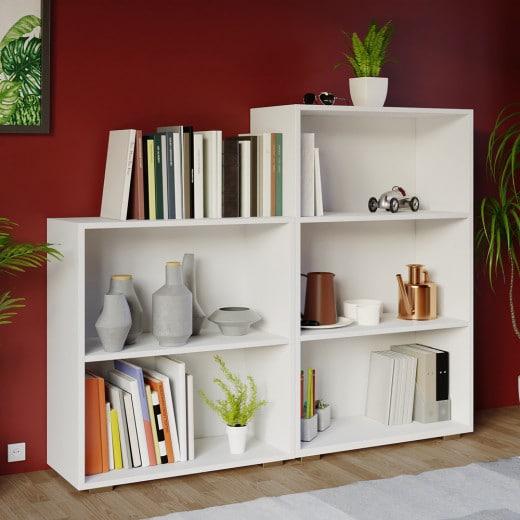 Bücherregal in weiß