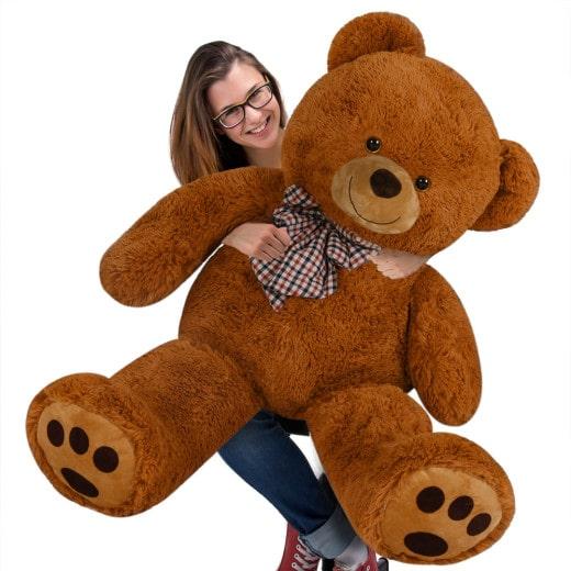 Plüschtier Teddybär XXXL braun