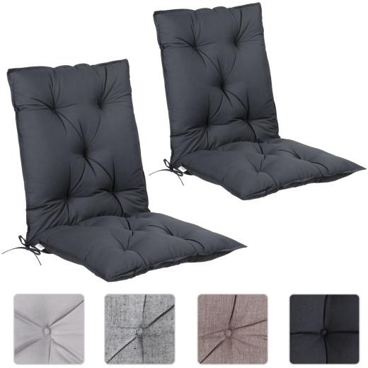 Sitzauflagen 2er-Set 116x57x7cm