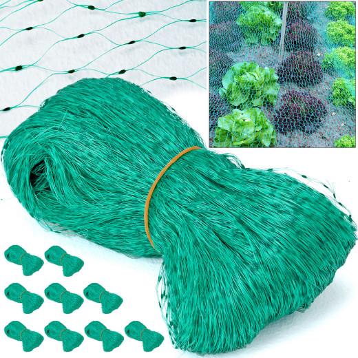Vogelschutznetz 10er-Set Grün 2x5m