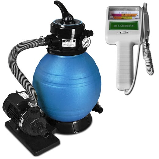 Sandfilteranlage 10.200 L/h inkl. Wassertestgerät