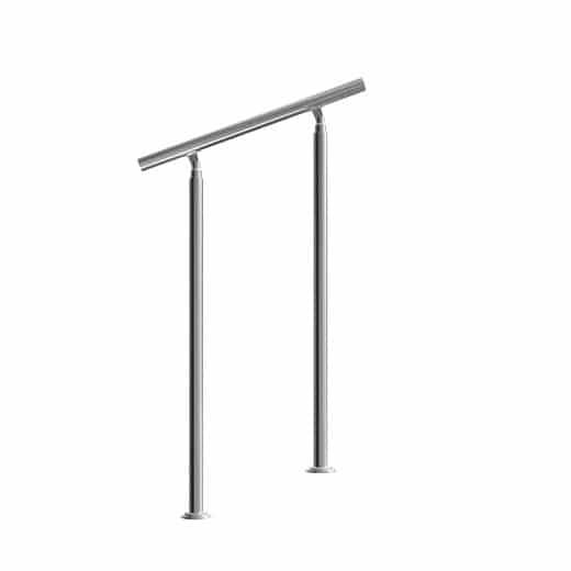 Treppengeländer Edelstahl 80cm