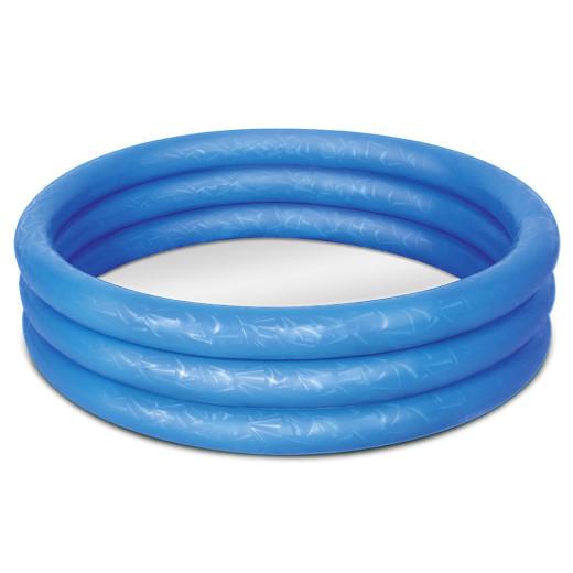 KiddiePool - Embossing - Ø 183cm - blau
