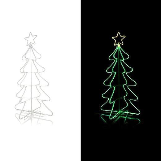 LED Outdoor-Tannenbaum faltbar
