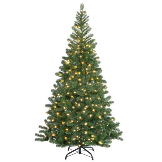 Künstlicher Weihnachtsbaum 140cm mit Lichterkette