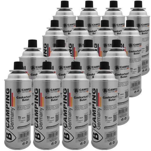 Butane Gas Canister - Set of 16