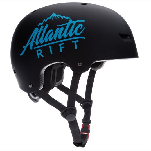 Atlantic Rift Kinder-/Skaterhelm Schwarz M verstellbar