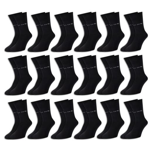 Pierre Cardin Socken 18er-Pack Schwarz Gr. 39-42