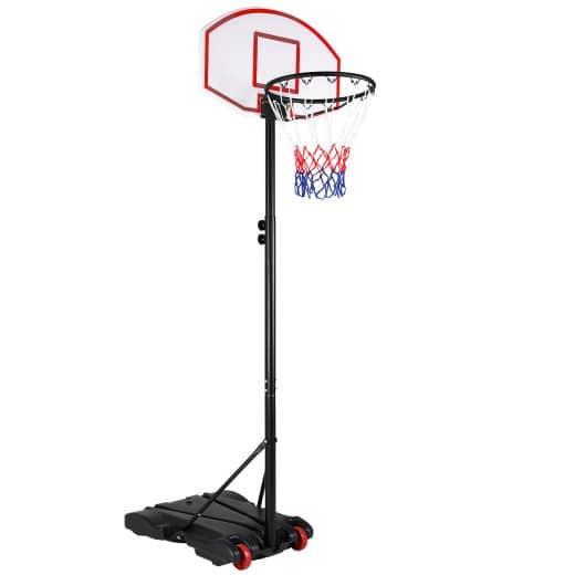 Basketballkorb mit Rollen -höhenverstellbar Ringhöhe von 192- 255cm