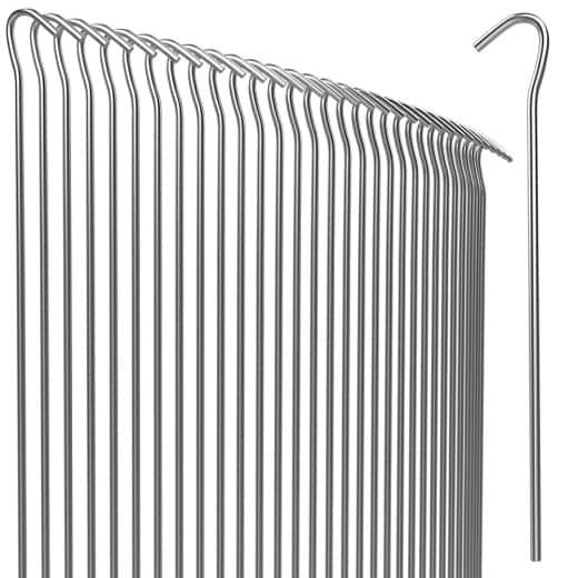 Heringe 100er-Set Stahl Ø3,5 mm verzinkt