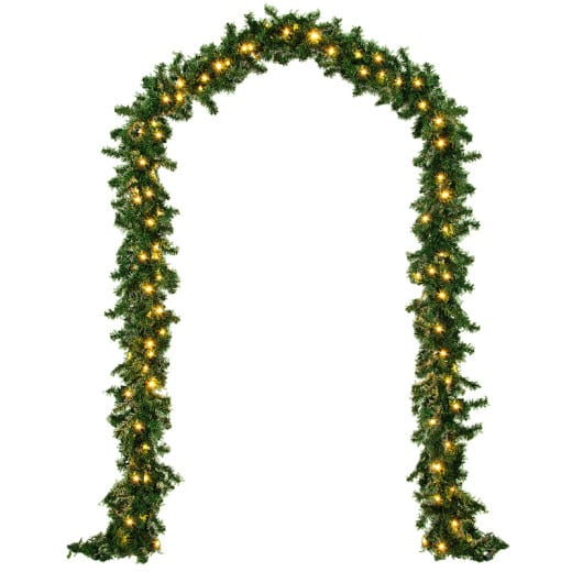 Weihnachtsgirlande 5m mit 100 LEDs für In- und Outdoor