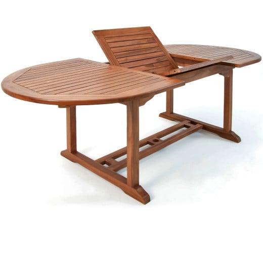 Gartentisch Vanamo aus Eukalyptusholz FSC-zertifiziert