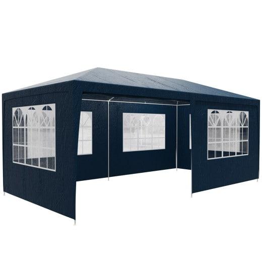 Festzelt Rimini Blau 3x6m UV-Schutz 50+